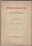 Méhes Gyula: Kémiai kísérletek. Vezető a serdültebb tanulóifjúság számára a kémiai kísérletek végrehajtásában (1932)